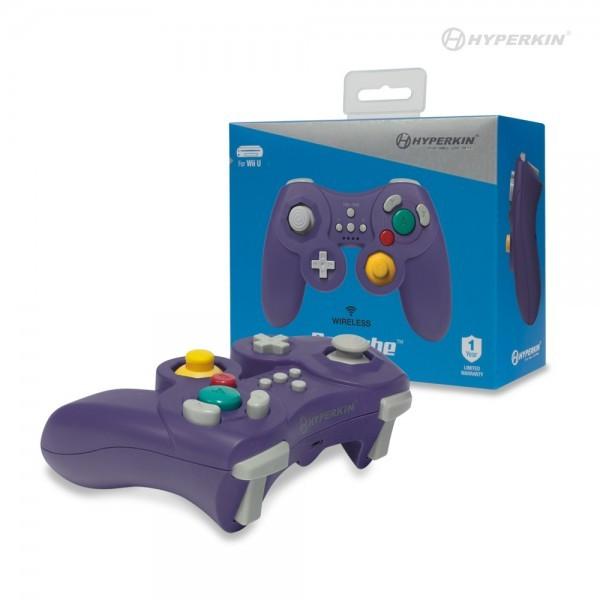Wii U - Wireless Controller / Pad #lila ProCube [Hyperkin]