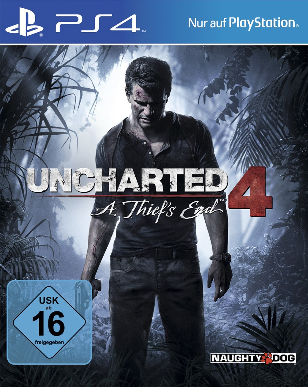 PS4 - Uncharted 4: A Thief\'s End