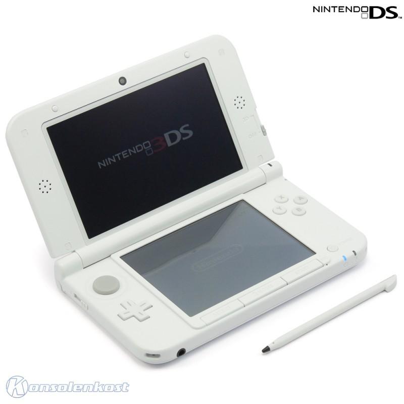 Nintendo 3DS - Konsole XL #weiß