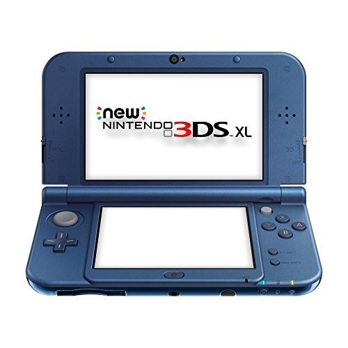 Nintendo New 3DS - Konsole XL #Metallic Blau + Netzteil