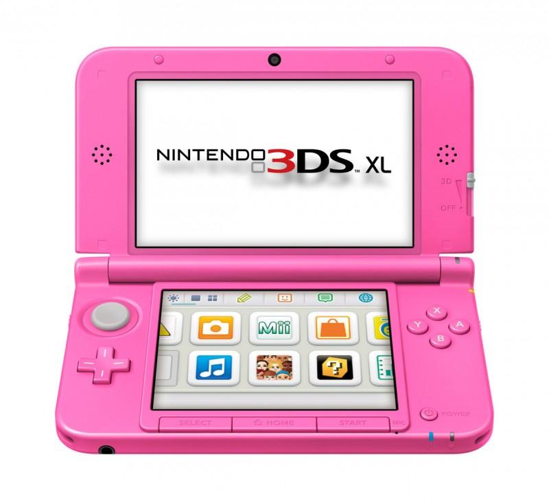 Nintendo 3DS - Konsole XL #pink / rosa