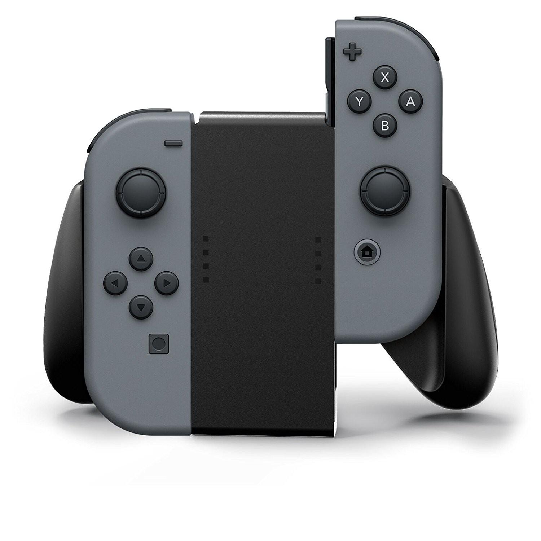 Nintendo Switch - Original Joy Con Grip / HAC-011 #schwarz [Nintendo]
