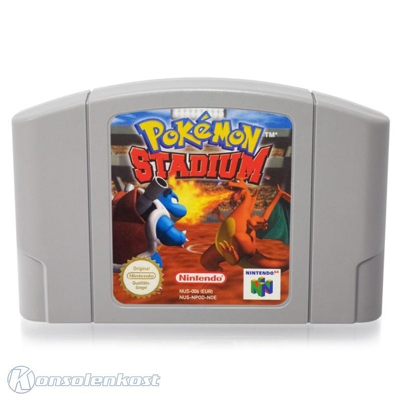 N64 - Pokémon Stadium 1