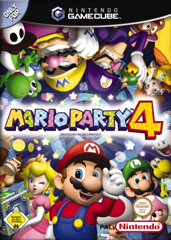 GameCube - Mario Party 4