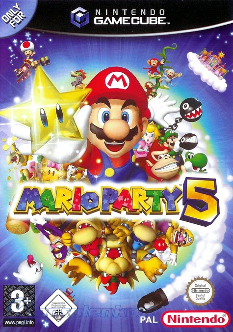 GameCube - Mario Party 5