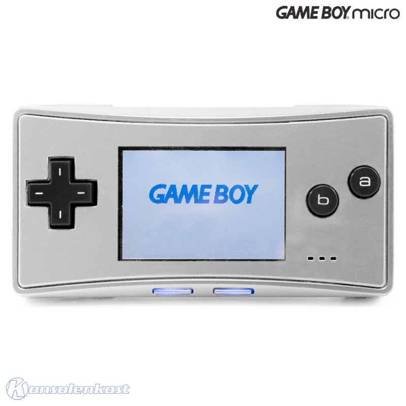 GameBoy Micro - Konsole #silber
