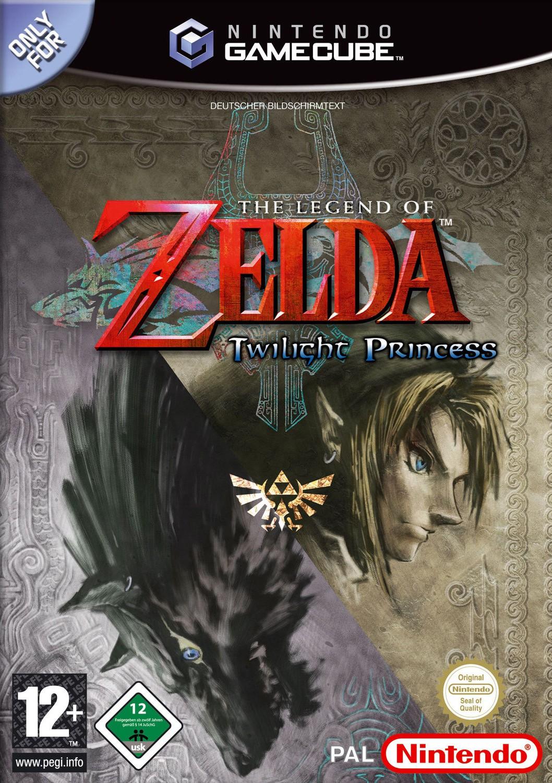 GameCube - Legend of Zelda: Twilight Princess