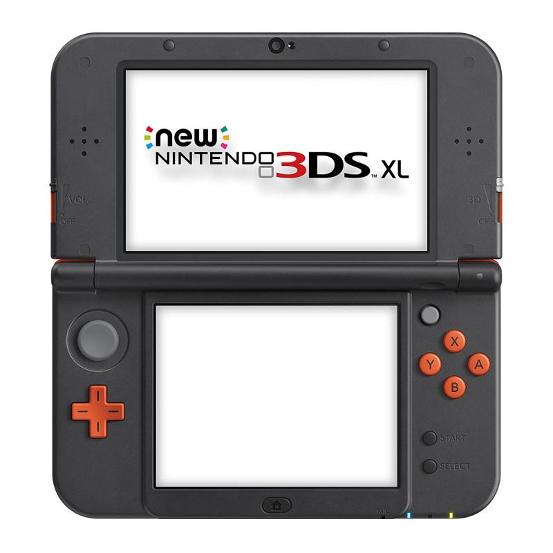 Nintendo New 3DS - Konsole XL #Orange Black + Netzteil