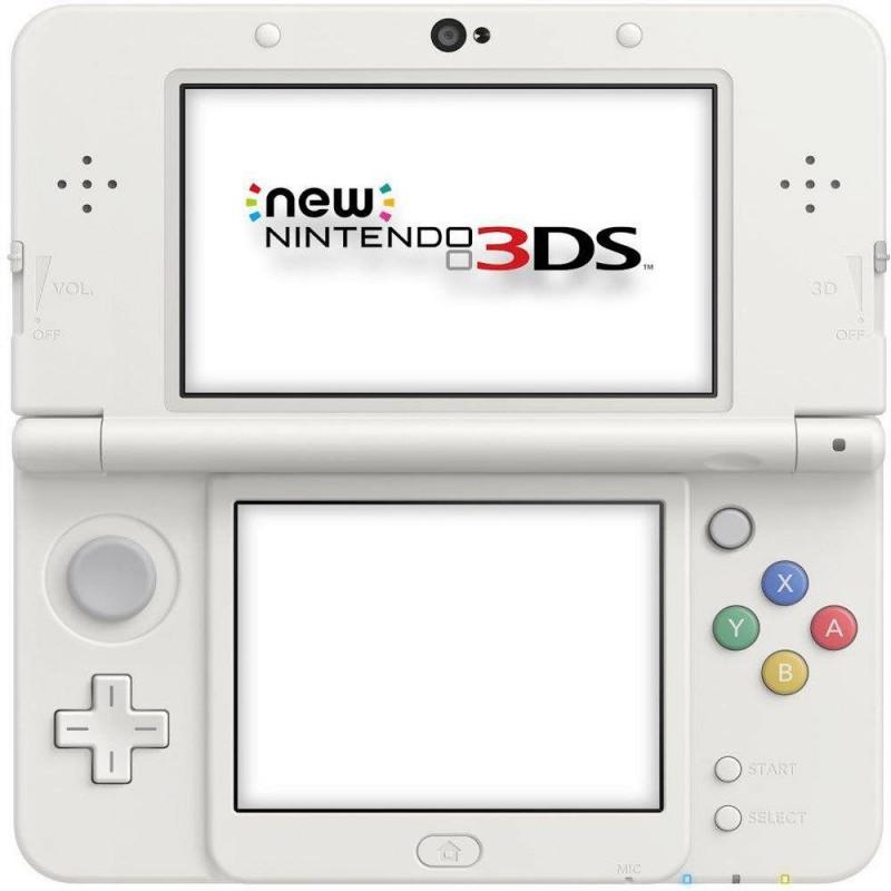 Nintendo New 3DS - Konsole #weiß + Netzteil
