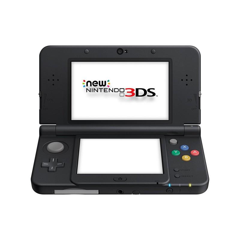 Nintendo New 3DS - Konsole #schwarz + Netzteil
