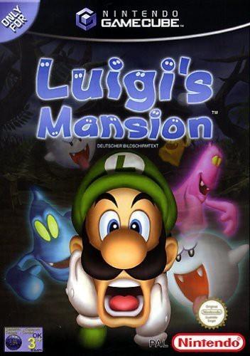 GameCube - Luigi\'s Mansion