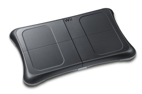 nintendo wii game wii fit plus game original balance board black. Black Bedroom Furniture Sets. Home Design Ideas