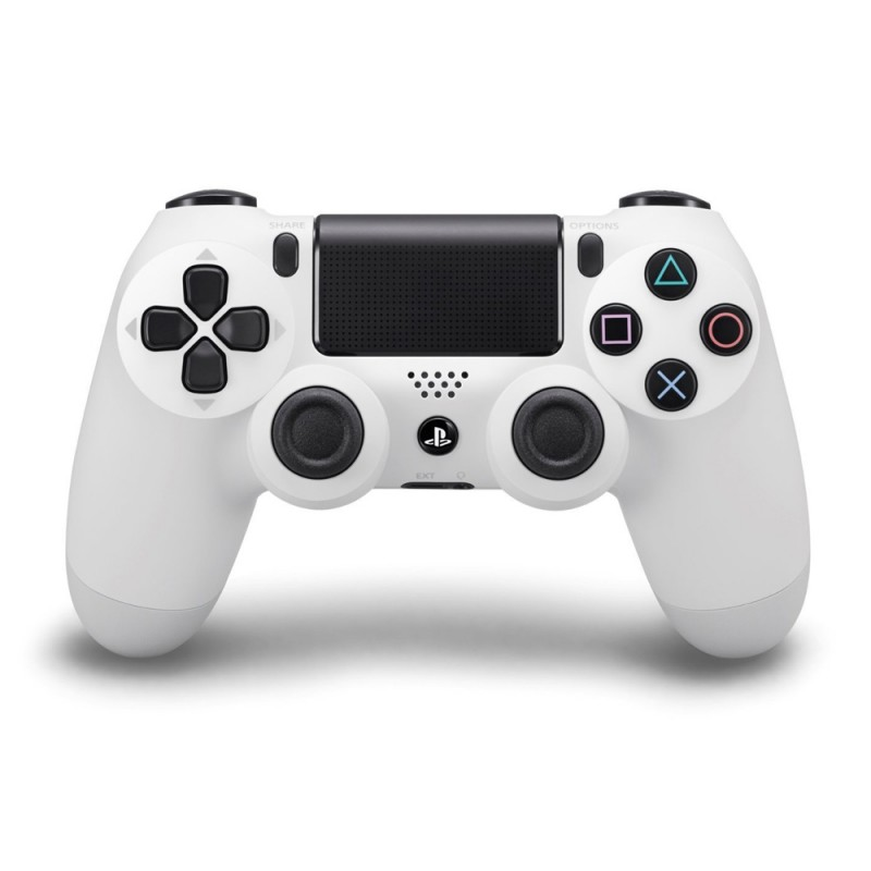 PS4 - Original Wireless DualShock 4 Controller / Pad #Glacier White / weiß [Sony]