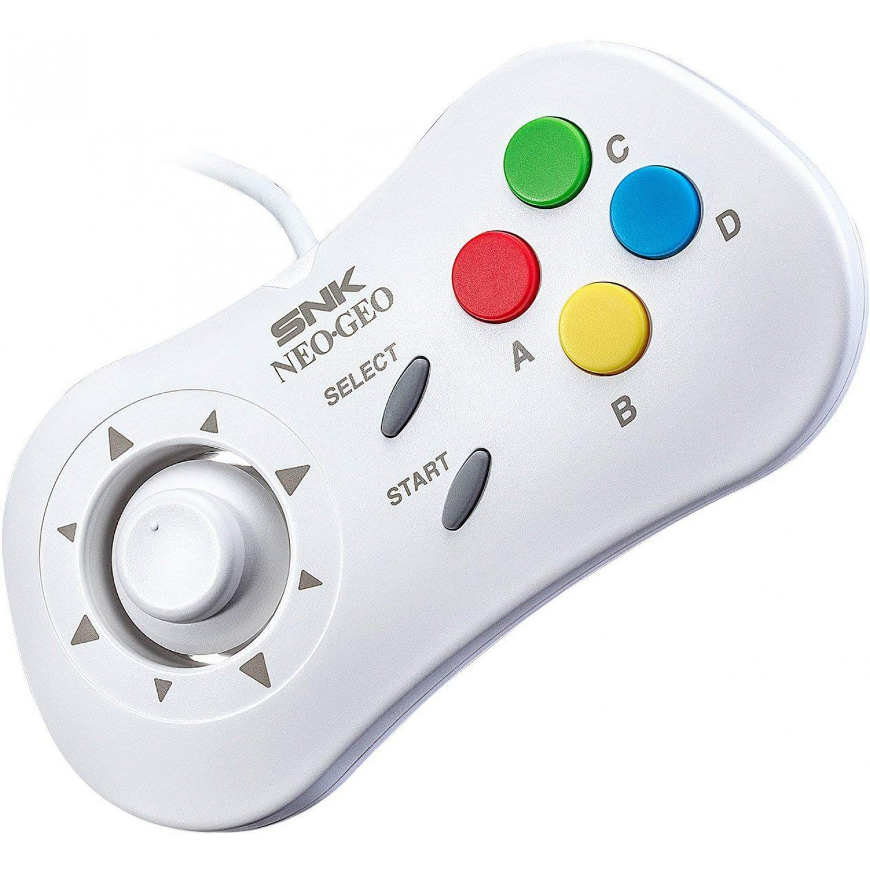 Neo Geo Mini - Original SNK Controller / Gamepad #weiß