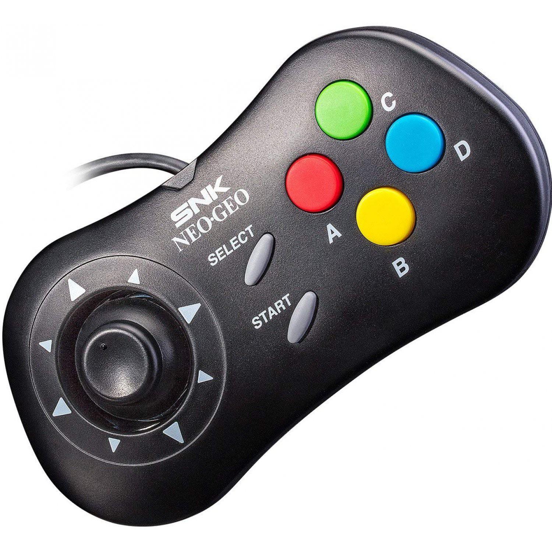 Neo Geo Mini - Original SNK Controller / Gamepad #schwarz