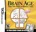 Nintendo DS - Brain Age: Train Your Brain in Minutes a Day! (US Import) (mit OVP) (gebraucht)