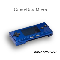 Gameboy Micro Konsolen