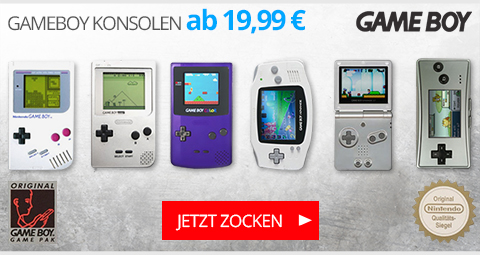GameBoy Konsolen