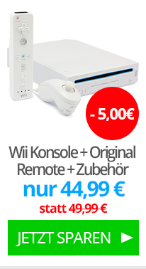 Wii Konsole + Original Remote + Zubehör
