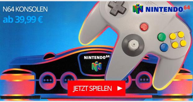 N64 Konsolen
