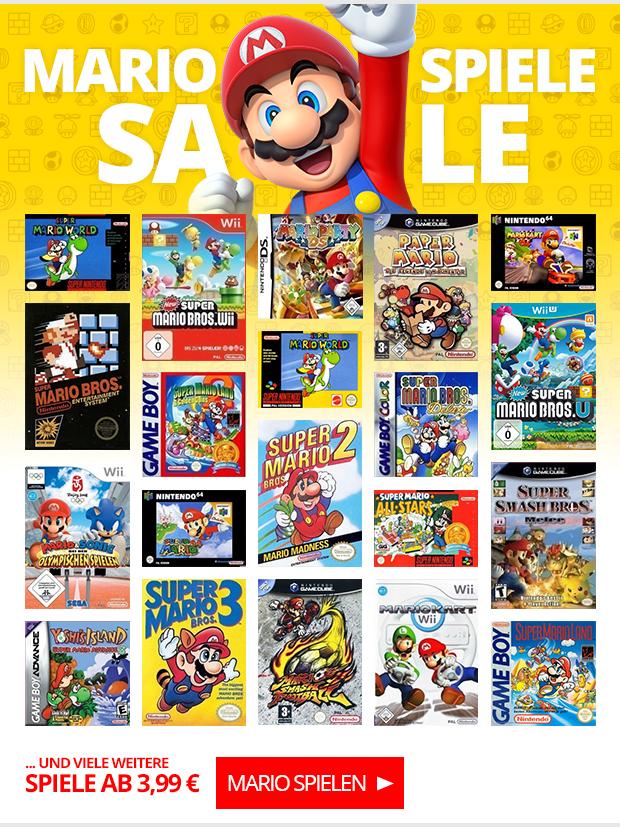 Mario Spiele SALE