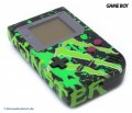 GameBoy - Konsole #Custom Design Jungle Green (mit neuem Display) (gebraucht)