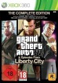 Xbox 360 - Grand Theft Auto IV & Episodes from Liberty City - The Complete Edition (mit OVP) (gebraucht) USK18