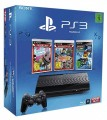 PS3 - Sony PS3 12 GB + 3 Games LBP + Modnation + Ratchet&Clank Q-Force (NEU & OVP)