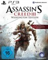 PS3 - Assassin's Creed 3 - Washington Edition (NEU & OVP)