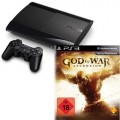 PS3 - Sony 500GB + God of War Ascension (NEU & OVP) USK18 (Vorbestellung: 27.03.2013)