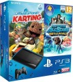 PS3 - Konsole Super Slim 500 GB (inkl. Controller + LittleBigPlanet Karting + All-Stars Battle Royale) (NEU & OVP)
