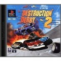 Playstation 1 - Destruction Derby 2 (mit OVP) (gebraucht)