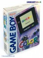 GameBoy Color - Konsole #Clear/Atomic Purple (mit OVP) (gebraucht)