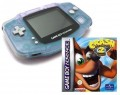 GameBoy Advance - Konsole + Crash Bandicoot 2 (Modul) (gebraucht)