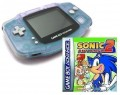GameBoy Advance - Konsole + Sonic Advance 2 (Modul) (gebraucht)