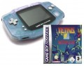 GameBoy Advance - Konsole + Tetris Worlds (Modul) (gebraucht)