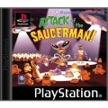 Playstation 1 - Attack of the Saucerman! (mit OVP) (gebraucht)