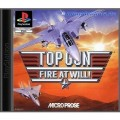 Playstation 1 - Top Gun - Fire At Will! (mit OVP) (gebraucht)