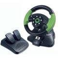 Xbox - Speed Link Green Lightning Wheel Lenkrad (gebraucht)