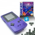 GameBoy Color - Konsole #lila + Tetris (gebraucht)