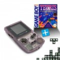 GameBoy Color - Konsole #Clear/Atomic Purple + Tetris (gebraucht)