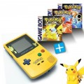 GameBoy Color - Konsole #Pokemon Edition + Pokemon Editionen Gelb, Rot & Blau (gebraucht)