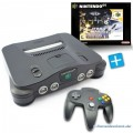 N64 - Konsole (inkl. Star Wars Shadows of the Empire, Controller & Zubehör) (gebraucht)