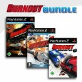 Playstation 2 - Burnout Revenge + Burnout 3 - Takedown + Burnout Dominator (mit OVP) (gebraucht)