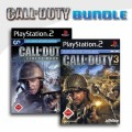 Playstation 2 - Call of Duty - Finest Hour + Call of Duty 3 (mit OVP) (gebraucht) USK18