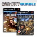 Playstation 2 - Call of Duty 2 Big Red One + Call of Duty 3 (mit OVP) (gebraucht) USK18