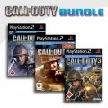Playstation 2 - Call of Duty - Finest Hour + Call of Duty 2 Big Red One + Call of Duty 3 (mit OVP) (gebraucht) USK18