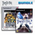 Playstation 2 - Time Splitters 1 + Time Splitters 2 (mit OVP) (gebraucht) USK18