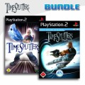 Playstation 2 - Time Splitters 2 + Time Splitters Future Perfect (mit OVP) (gebraucht) USK18