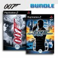 Playstation 2 - James Bond 007 - Alles oder Nichts + James Bond: Agent im Kreuzfeuer / Agent under Fire (mit OVP) (gebra